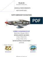 VQ MODEL P-51B MUSTANG RC ARF CLASSE 46