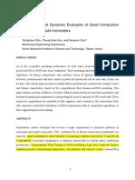 Computational Fluid Dynamics Evaluation of Good Combustion