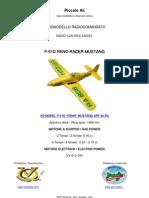 "VQ MODEL RC P-51D MUSTANG ""OLE YELLER"" ARF CLASSE 46"
