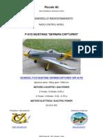 VQ MODEL RC P-51D MUSTANG ARF CLASSE 46