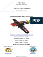 VQ MODEL P-40 WARHAWK RC ARF CLASSE 60