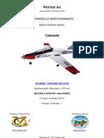 VQ MODEL RC TOMHAWK ARF 60