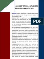 Diccionario de Posicionamiento Web