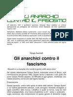 Gli anarchici contro il fascismo