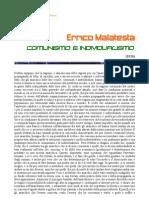 Errico Malatesta-  Comunismo e individualismo