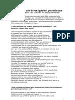 COMO INVESTIGAR (Periodismo)ALICIA MILLER