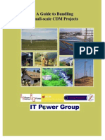 Bundling Small Scale CDM Projects Guide