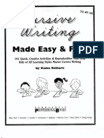 Cursive Writing 101