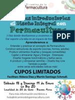 Jornadas introductorias al Diseño Integral con Permacultura