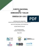 Honduras Endesa Dhs 2012 06-19-2013