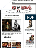 Cowboys and Indians Magazine newsletter No. 2