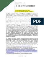 Antonio Pérez del Hierro- Capítulo I