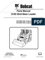 Manual Partes. S-185. Skid Steer Loader.