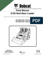 Manual Partes. S-185. Skid Steer Loader.