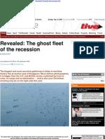 La flota fantasma de la recesión