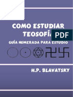 Como Estudiar Teosofia (Guia de Estudio)