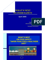 PENNING-What's Next on Food Safety - April 2005 ELO
