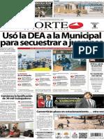 Periódico Norte edición impresa día 8 de enero 2014
