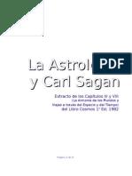 La Astrología y Carl Sagan