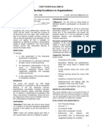 CIMP LEO Course Outline Batch 2008-10