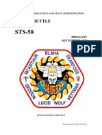 NASA Space Shuttle STS-58 Press Kit