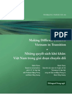 Making Difficult Choices - Vietnam in Transition