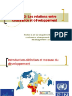 thème 2- les relations entre croissance et développement économique 2009-2010