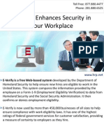 E-Verify Enhances Security in Your Workplace