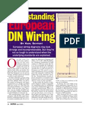 din wiring diagram din wiring codes relay ignition system  din wiring codes relay ignition system