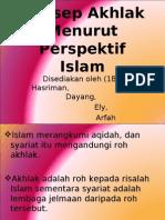 Konsep Akhlak Menurut Perspektif Islam