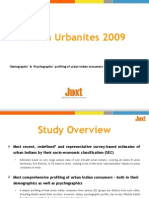 Snapshot of Juxt Indian Urbanites 2009 Study