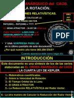 El Orden Anarquico Del Caos y la REDUCCION DEL RADIO VECTOR.