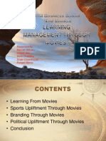 Management Through Movies