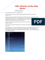 The Scientific Miracles of the Holy Quran