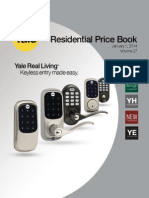 Yale Residential 2014 Price Book