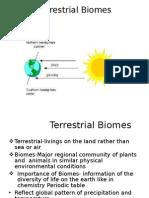 Terrestrial Biomes Devendra