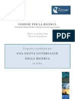 Proposta ISSNAF e Gruppo 2003