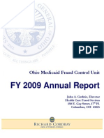 2009 Health Care Fraud Annual Report
