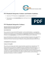 PVO Standards Guidance
