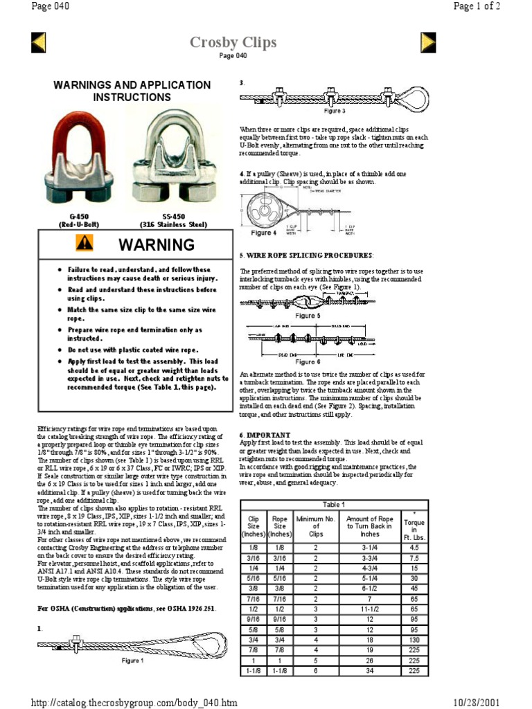 Great Wire Rope Capacity Ideas - Everything You Need to Know About ...