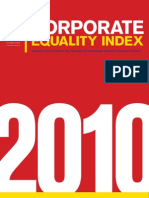 HRC Corporate Equality Index 2010