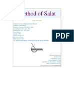 Method and Meaning of Salat