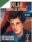 Recuerdos de una vida (Pilar Primo de Rivera)