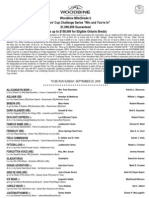 Woodbine Mile Nominations