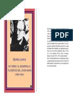 Entorno Al Desarrollo Filosofico Del Joven Marx