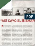 Así se hundió el Bismarck