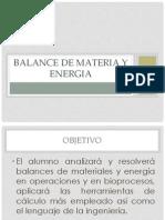 Introducción a los Balances en Ingenieria