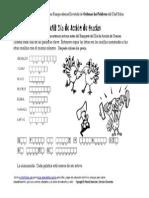 Es Spanish Thanksgiving Scramble Words Puzzle Worksheet