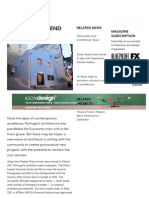 Post World's End Architecture_ Portugal - DesignCurial