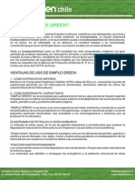 Simple Green Ficha Tecnica